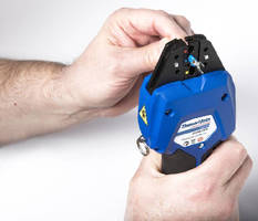 Micro-Crimping Tool performs 150,000 crimps in service life.