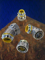 Liquid-tight Conduit Fittings withstand wet, corrosive locations.