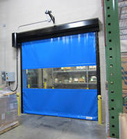High-Speed Door operates safely around combustible dusts.