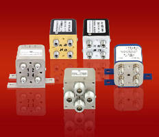 Electromechanical Relay Transfer Switches cover DC to 40 GHz.