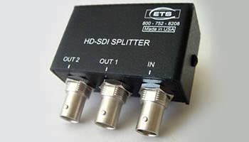 HD-SDI Video Splitters have passive design.