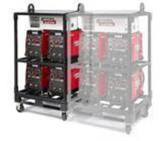 Lincoln Electric's 4-Pack Rack offers one primary power drop.