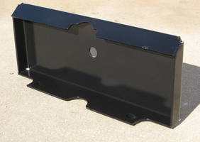 Weld On Mini Skid Steer Plate enables conversion of buckets or other attachments