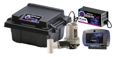 Stormcell 442 Series Pump System offers remote monitoring.