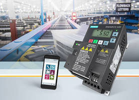 Easy, Intuitive Commissioning and Operation for Sinamics V20 Converters