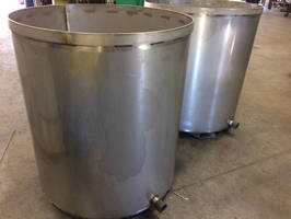 Custom Stainless Steel Tanks for Paint Storage