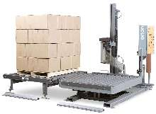 Stretch-Wrapping Machine eliminates double handling of loads.