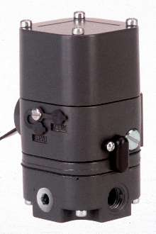 Current to Pressure Transducer suits control applications.