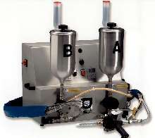 Meter/Mix/Dispense Machines accept viscosities from 150 cps.