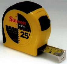 Tape Measure is comfortable to hold and durable.
