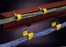Bridle Ring Saddles support datacom cables.