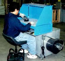 Portable Downdraft Table suits welding/grinding applications.