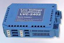 LVDT Signal Conditioner operates from 24 Vdc.