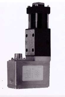 Servo Valve provides position, velocity, and pressure control.