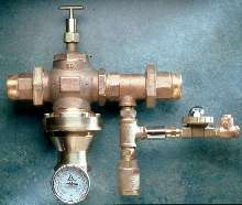 Thermostatic Mixing Valve handles flows to 100 gpm.