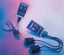 Serial PC Cards provide data rates up to 921.6 kbps.