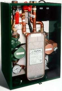 Water Heater Module mounts to wall.