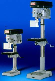 Manual Drill Presses are furnished with CE safety package.