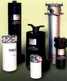 Filters handle various hydraulic applications.