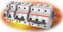 Miniature Circuit Breakers suit applications to 240 Vac.