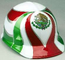 Safety Cap features Mexican flag.