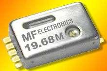 Crystal Oscillators draw less than 2 mA at 3.3 V.