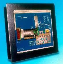Liquid Crystal Display adheres to NEMA 4 standards.