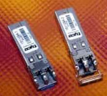 Transceivers are for SONET and Ethernet applications.
