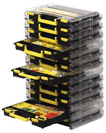 Storage Solution allows for transport of tool sets.