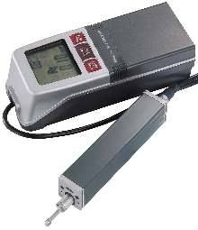 Handheld Surface Analyzer measures 19 roughness parameters.