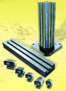 Workholding Systems provide repeatable part clamping.