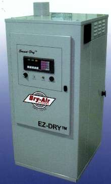 Resin Drying System uses diagnostic controller.