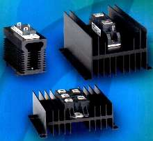 Semiconductor Assemblies can be panel or DIN-rail mounted.