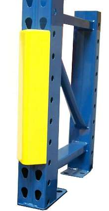 Column Protectors help prevent rack damage.