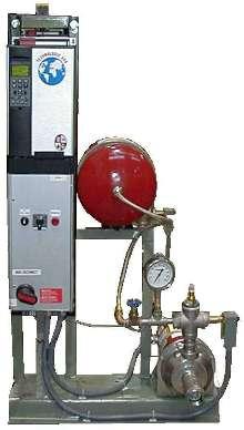 Pressure Booster provides steady pressure and temperature.