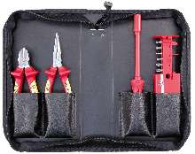 Insulated Tools are available as plier and screwdriver sets.