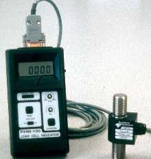 Tension-Measurement System combines load cell and indicator.