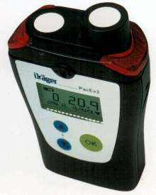 Gas Monitor has LCD display.