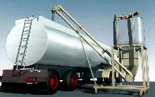 Filling System loads semi-trucks regardless of angle.