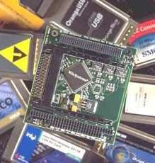 PC/104-Plus Module supports CardBus and PCMCIA cards.