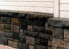 Polyurethane Sheets resemble brick and stone work.