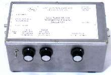 Preamplifier drives computer sound-card line input.