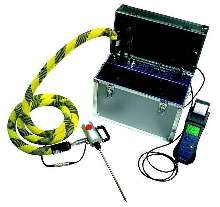 Portable Flue-Gas Analyzer utilizes NDIR technology.