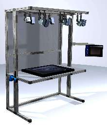 Machine-Vision System enables complex assembly inspection.