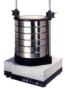 Horizontal Sieve Shaker employs careful circular motion.