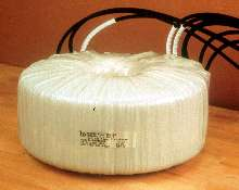 Toroidal Transformers offer ratings to 10,000 VA.