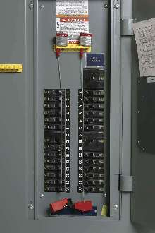 Lockout System protects circuit breakers.