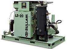 Stationary Air Compressor utilizes microprocessor control.