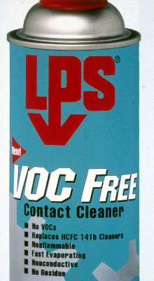 Cleaner contains no volatile organic compounds.