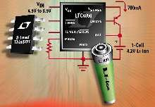 Battery Charger includes adjustable timer for charge termination.